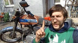 Весь тюнинг СССР для мотоцикла ЯВА! Сделано своими руками!