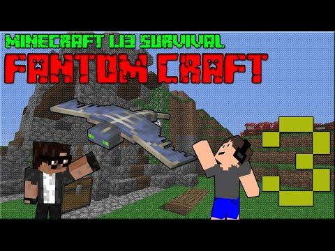 NOVÝ VÝTAH 1.13! Minecraft survival 1.13! #3 |FANTOM CRAFT| w/CukeMan