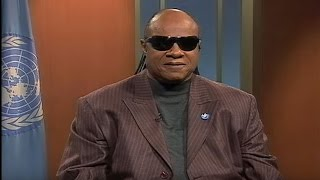 Stevie Wonder supports the UN Convention on the Rights of Persons with Disabilities