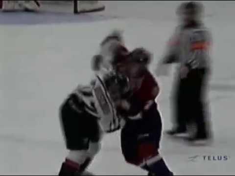 Mathieu Brisebois vs. Louick Marcotte