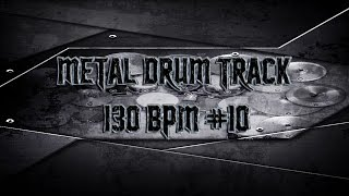 80's Heavy Metal Drum Track 130 BPM (HQ,HD) | Preset 2.0