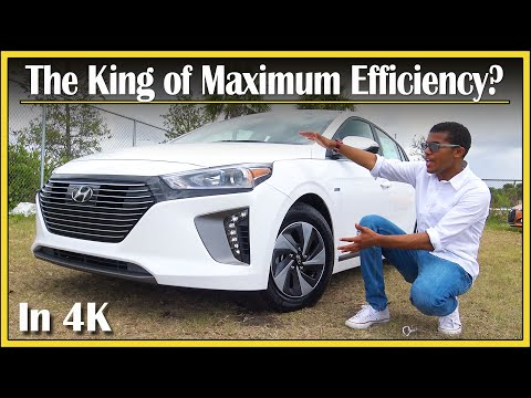 2017 - 2019 Hyundai Ioniq Hybrid Review | Most Fuel Efficient Car | In-Depth & DETAILED | In 4k UHD!