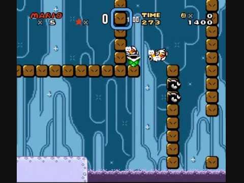 Kaizo Mario World Walkthrough - Kaizo Mario Blind - Part 12