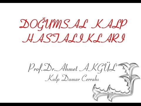 Doğumsal Kalp Hastalıkları - Prof. Dr. Ahmet AKGÜL - ahmetakgulTV