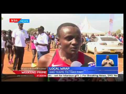 Weekend Prime: Joyceline Jepkosgei  and Bernad Kipkemoi win the second edition of the Ziwa road race