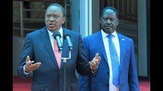 Kenyans react to Raila, Uhuru meeting - VIDEO