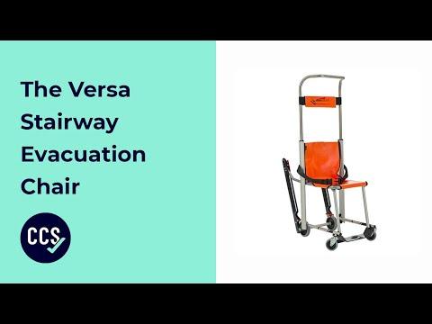 Versa Stairway Evacuation Chair - Demonstration