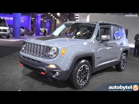 2015 Jeep Renegade Trailhawk Walkaround Video Review at the New York Auto Show
