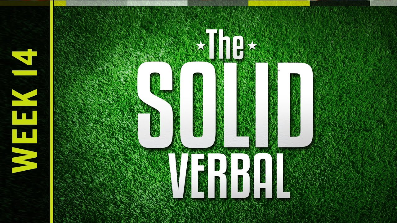 The Solid Verbal LIVE! - College Football Week 14 thumbnail