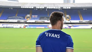 LEE EVANS' FIRST INTERVIEW AT TOWN