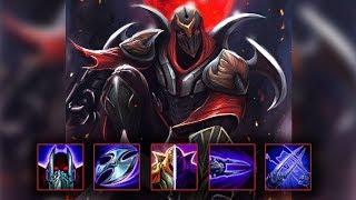 Zed Montage 11 - Best Zed Plays season 9 - League of Legends