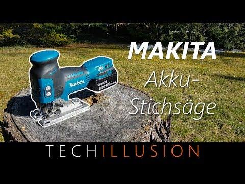 🛠DIE PERFEKTE AKKU STICHSÄGE! - Makita DJV181 - Review und Test [2018]