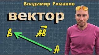 ПОНЯТИЕ ВЕКТОРА геометрия 8 9 класс видеоурок