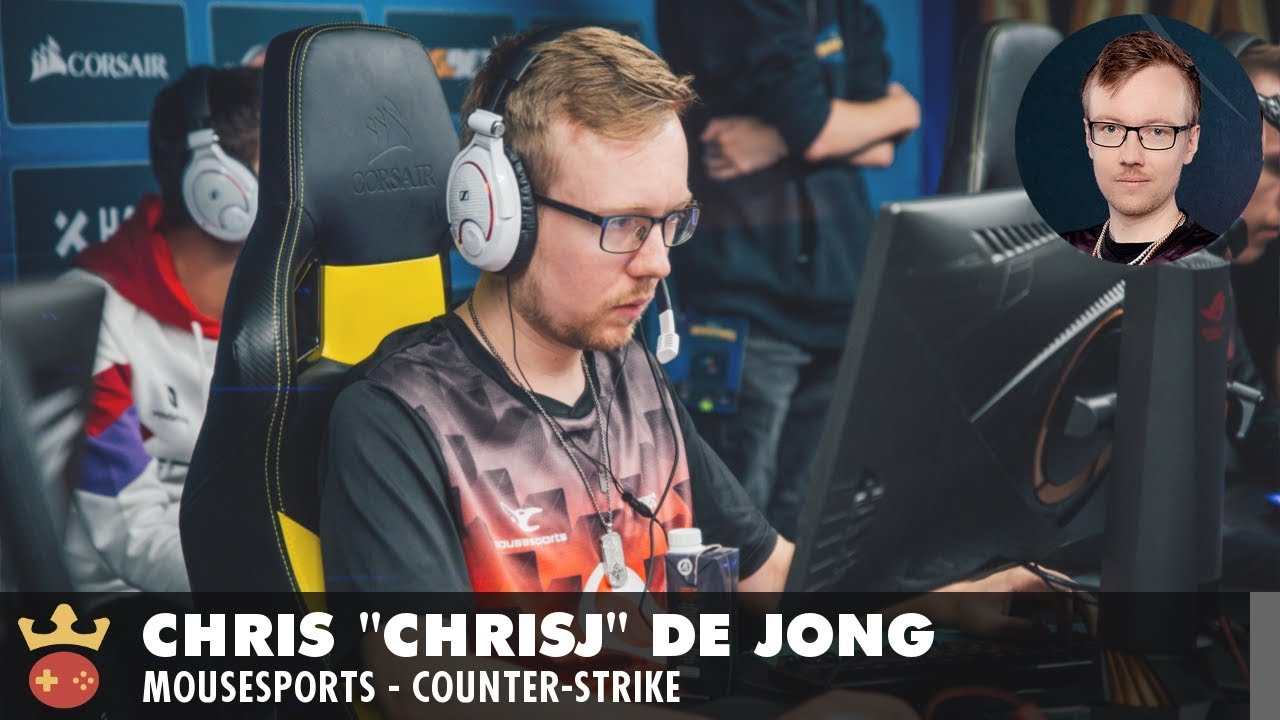 Video of Interview with mousesports' chrisJ at IEM Sydney 2019