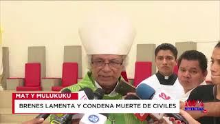 2018-13-08 cardenal Brenes lamenta muerte de civiles