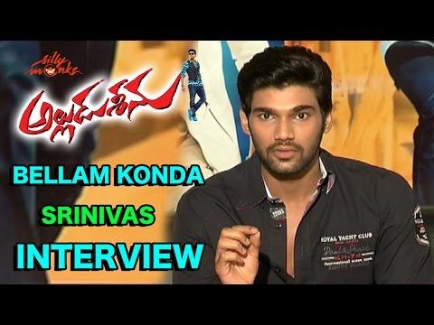 Bellamkonda Srinivas Exclusive Interview - Alludu Seenu Movie