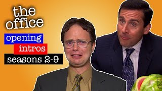 Every Season's First Cold Open - The Office US
