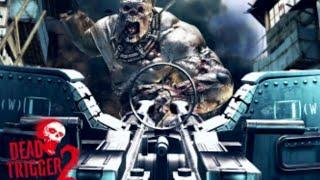 Играем в Dead Trigger2,напоили Эдди вискарём