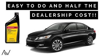 How To Change The Transmission Fluid In A Honda Accord | 2013   2017