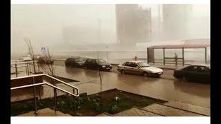 Астана. Очень сильный ветер В Астане. 22.05.2018.