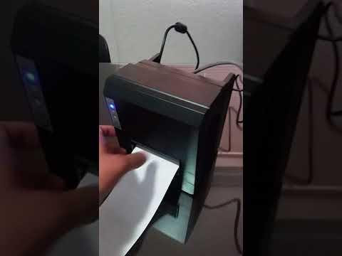 Demostración de la Impresora de Red 3nStar RPT-008