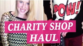 preview picture of video 'Massive Charity Shop Haul - Ashley Road, Poole'
