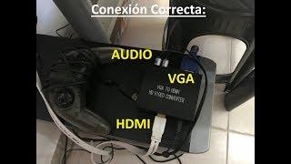 COMO CONVERTIR TU PANTALLA EN MONITOR DE PC
