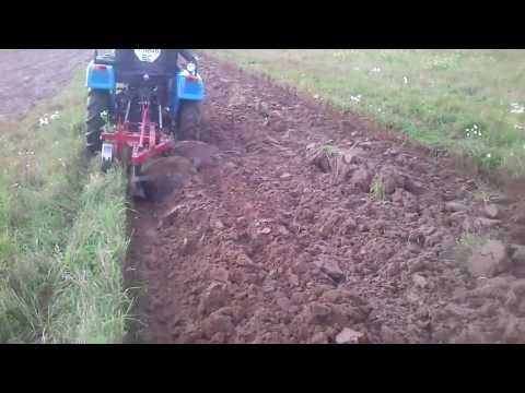 Плуг двохкорпусний для міні-трактора Синтай 244 (double-hulled plow for minitractors xingtai)