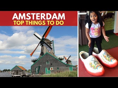 Amsterdam with Kids | Top things to do in Amsterdam | Family Travel | Travel Guide | Europe Travel