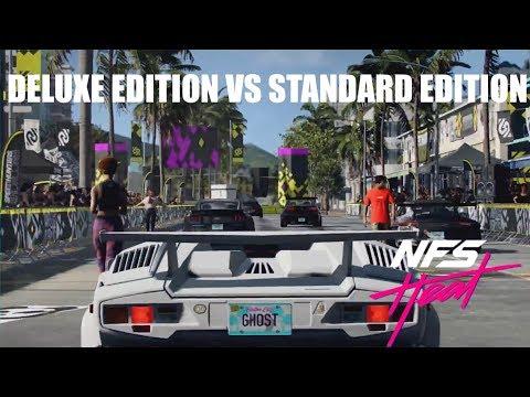 Need For Speed HEAT  2019| DELUXE EDITION VS STANDARD EDITION  #NFSHEAT #NFSHEAT2019