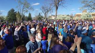 Hundreds Gather To Support Casper Police Officer Jacob Carlson