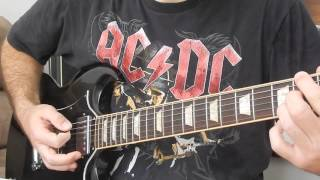Guitar cover: Bonny / Highway to hell [Live, 1992]