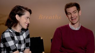 BREATHE interviews - Andrew Garfield, Claire Foy, Andy Serkis