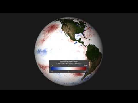 January 2014 SST Anomalies, EarthNow