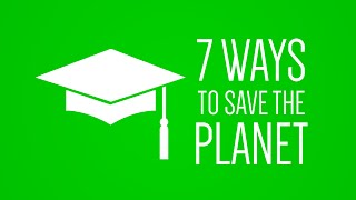 Thumbnail for 7 ways students can save the planet