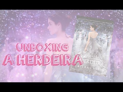 A Herdeira, Capa Dura | Unboxing