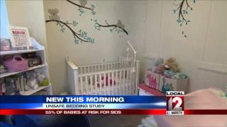 Study: Too many infants still sleep with blankets