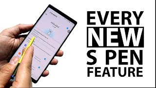 Galaxy Note 9: Every NEW S Pen Feature! (pre launch)
