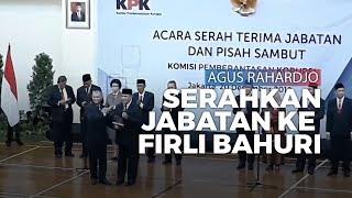 Agus Rahardjo Serahkan Estapet Kepemimpinan KPK kepada Firli Bahuri