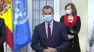Su Majestad el Rey preside el acto conmemorativo del 75º aniversario de Naciones Unidas