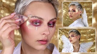 Euphoria Inspired Angel Makeup