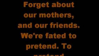 MGMT - Time to Pretend (lyrics)