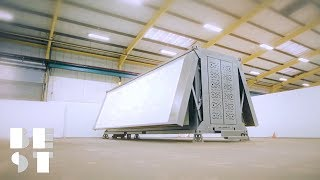 Ten Fold's Foldable House Build Themselves | Best Products