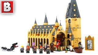 LEGO Harry Potter Hogwarts Great Hall Review! | Set 75954