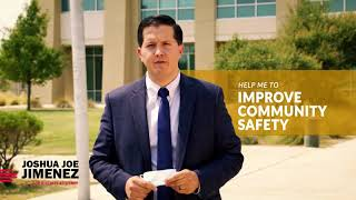 Joshua J Jimenez for DA -  It's Time To Be Tough On Crime