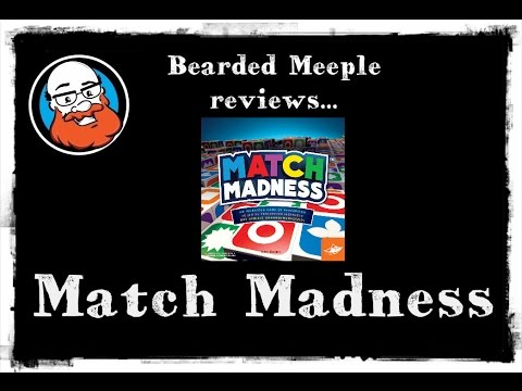 Bearded Meeple reviews : Match Madness