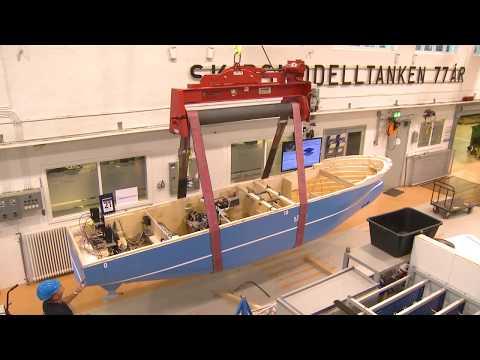 Testing an autonomous ship