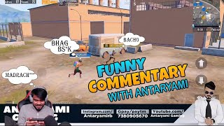 First Time PUBG Commentary    Antaryami Gaming   