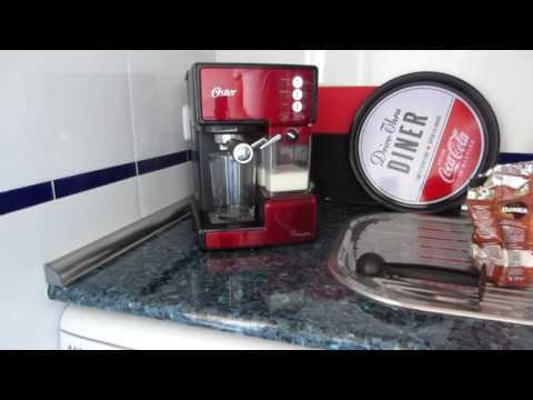 Cafetera Oster prima latte - Funcionamiento y accesorios - Tutorial