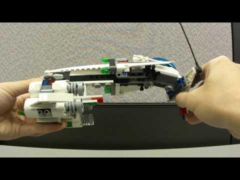 Vidéo LEGO Space Police 5983 : Le vaisseau secret de la police de l'espace
